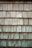 Wood tiled roof Royalty Free Stock Image
