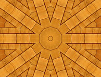 Wood tiles. Wood shingles abstract design royalty free illustration