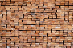 Wood timber construction material for background and texture. Royalty Free Stock Images