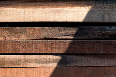 Wood timber construction material, Stack of Building Lumber Royalty Free Stock Photo