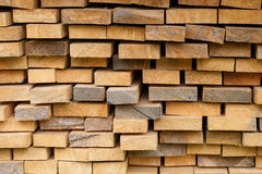 Wood timber construction material. Wooden planks stock image