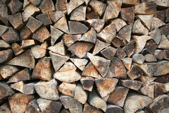 Wood timber construction. Natural wood texture Stock Photography