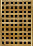 Wood timber lattice background Stock Image
