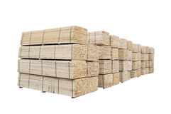 Wood or timber stack Royalty Free Stock Photos
