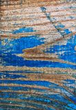 Wood tone with cracks and scuffs Stock Images