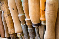 Wood tools Royalty Free Stock Photography