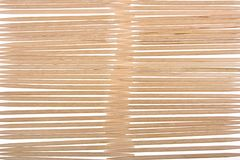 Wood toothpicks background Stock Image