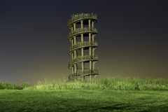 WOOD TOWER Stock Images