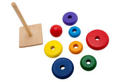 Wood toy royalty free stock photo