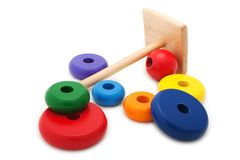 Wood toy Stock Image
