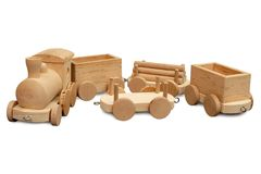 Wood toy Stock Photos