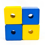 Wood Toy Beads Royalty Free Stock Images