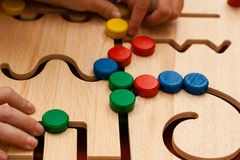 Wood toy Stock Photography