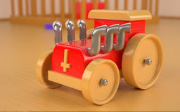 Wood toy royalty free stock photography