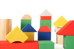 Wood toys Royalty Free Stock Image
