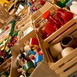 Wood toys Royalty Free Stock Photos