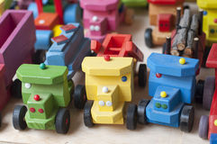 Wood toys Royalty Free Stock Photography
