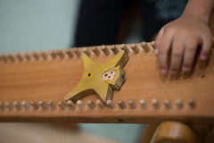 Wood Toys Sliding Stock Images