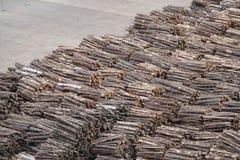 Wood transport Stock Photo