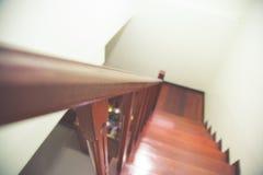 Wood trappa Fotografering för Bildbyråer