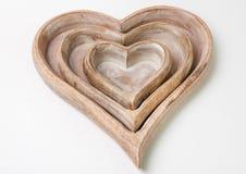 Wood tray Royalty Free Stock Photos