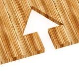 wood tree metaphor Stock Image