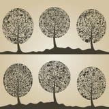 Wood tree7 Royalty Free Stock Image