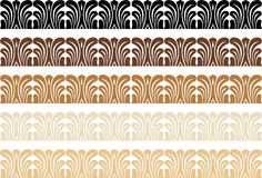 Wood Trim Pattern Royalty Free Stock Photography