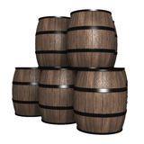 Wood trumma Royaltyfria Bilder