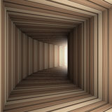 Wood tunnel Royalty Free Stock Photo