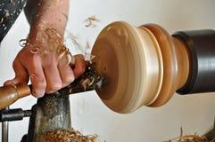Wood turning Stock Photos