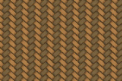 Wood twines weave texture. Brown color wood twines weave texture Stock Photo