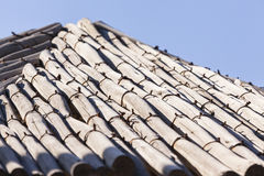 Wood Umbrella Detail Royalty Free Stock Photo