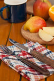 Wood utensils Royalty Free Stock Photography