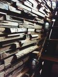 Wood vägg Royaltyfri Bild