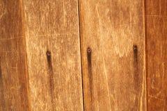 Wood vägg Arkivfoto
