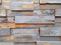 Wood vägg Royaltyfria Foton