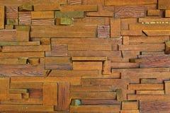 Wood väggtextur Arkivfoto