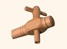 Wood valve barrel Stock Image