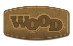 Wood - vector Royalty Free Stock Photos