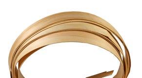 Wood veneer on a roll stock photo