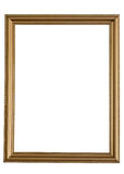 Wood vertical decorated frame Royalty Free Stock Photo