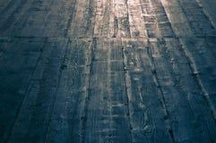 Wood vintage ower 100 years old  floor Stock Photo