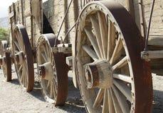 Wood wagon Royalty Free Stock Photos