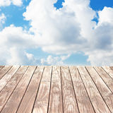 Wood walkway Stock Photography