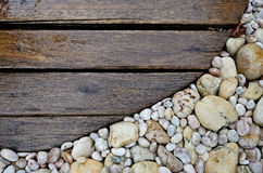 Wood walkway Royalty Free Stock Image