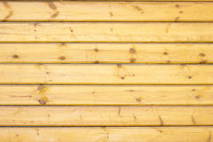 Wood wall. Wall of the rural house Stock Images