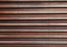 Wood wall. A wall made by woods Royalty Free Stock Images