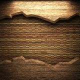Wood on the wall Royalty Free Stock Photos