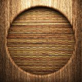 Wood on the wall Royalty Free Stock Photography